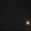 Antares e NGC6144,                                José Carlos Diniz