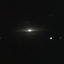 Galáxia do Sombreiro,                                Erik Zampieri