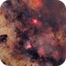 Milyway - Eagle and Swan Nebulas,                                Mohamed Usama Ismail