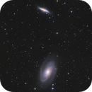 M 81 and M 82,                                CCDMike