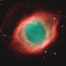 Helix Nebula (NGC7293) in HOO,                                Stuart Goodwin