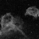 Heart and Soul Nebulae,                                Gardner D. Gerry