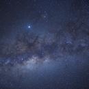 Milk Way center from Coquimbo, Chile,                                Bernon