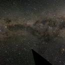 Milkyway Panorama - Carina to Scutum,                                Astro-Wene