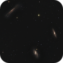 M65 - M66 - NGC 3628: The Leo Triplet,                                Uwe Deutermann