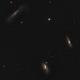 M65 - M66 - NGC 3628: The Leo Triplet,                                Uwe Deutermann