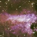 Nebulosa ômega,                                Izaac da Silva Leite
