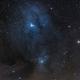 LDN1688/1689 VDB104/105/108, IC4606 - Rho Ophiuchi molecolar cloud complex in Drizzle 2x & DSLR,                                Gianni Cerrato