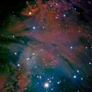 NGC2264 - Christmas Tree Cluster (LRGB + Ha),                                Bob
