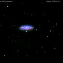 ngc2976 galassia in  orsa maggiore                                                    distanza 12 milioni  A.L.,                                Carlo Colombo