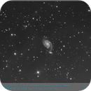 ARP 086 (NGC7753 & NGC7752)  Spiral with large HSB companion on arm in Pegasus,                                elbee