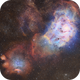 The Lagoon Nebula (M8) imaged in SHO-RGB,                                Andrew Klinger