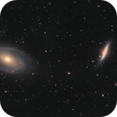 M81 and M82 Bodes and the Cigar Galaxies,                                Dave Boddington