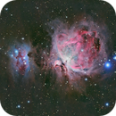 Orion Nebula and Running Man,                                Brian Sweeney