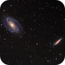 Messier 81 and 82,                                Dyno05