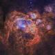 NGC6357 - War and Peace Nebula SHO - RGB Stars,                                Janco