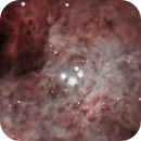 Nov 11, 2020 - Orion Nebula M42 Bright Core,                                Awni Hafedh