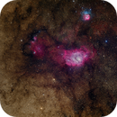 M8 and M20 from the Oregon Star Party,                                Craig Prost