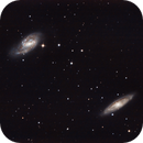 M65 & M66 - Spiral galaxies in Leo,                                Cluster One Obser...