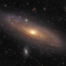 M31 Andromeda Galaxy,                                Mateusz Wiśniewski