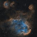 Running Chicken Nebula in SHO,                                Mauricio Christiano de Souza