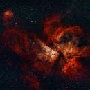 Carina nebula,                                Andres