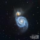 M51 Whirpool Galaxy,                                Francesco di Biase