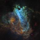 Omega Nebula from Telescope Live,                                Mauricio Christiano de Souza
