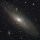 Andromeda Galaxy,                                clexdigital