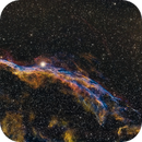 The Veil NGC6960 and the power of the Narrowband even from the city,                                Karlov