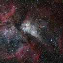 NGC3372 around Eta Carina,                                Djt