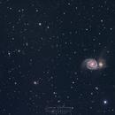 La galaxie du tourbillon,                                Cedric