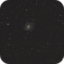 Messier 101 - Pinwheel Galaxy (unguided),                                Csere Mihaly