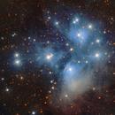M45 and dust,                                Roberto Colombari