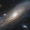 La Galaxie d'Andromède,                                Vincent Caron