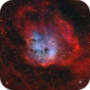 IC410: Tadpoles in modified SHO with RGB stars,                                bfalls