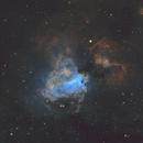 M17 Omega Nebula,                                AstroMichael