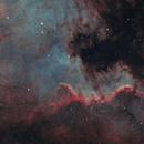 North America Nebula in HOO,                                Tommy Lease