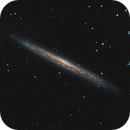 NGC 5907 reprocessed from scratch,                                Jeffbax Velocicaptor