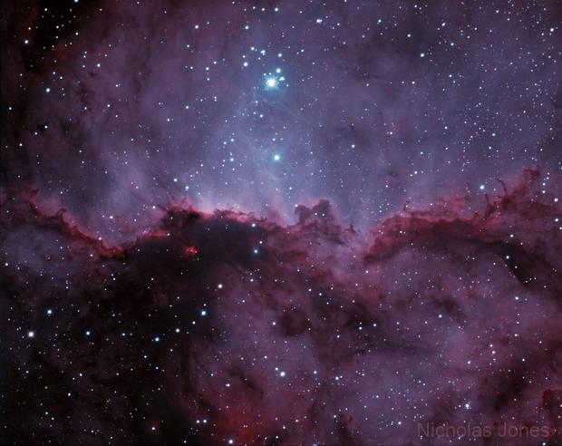 NGC 6188 in bi-colour,                                Nicholas Jones