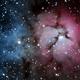 M 20 - Trifid Nebula,                                Ruediger