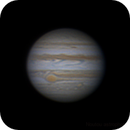 Jupiter and GRS with newtonian 150/750,                                Bach hamba Youssef