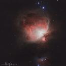 M42 orion nebula,                                Demetrios I. Jampurcas