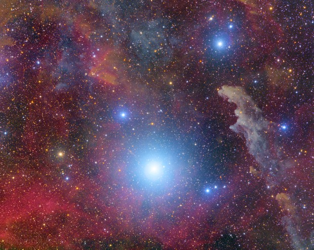 Area Near Witch Head Nebula,                                Astro_m