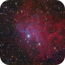 Flaming Star Nebula, revisited,                                Luigi Fontana