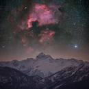 Cygnus above Triglav,                                Matej Mlakar
