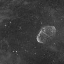 Crescent Nebula - NGC6888 Ha,                                Thomas Richter