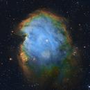 NGC 2174 SHO with RGB Stars,                                Dustin and Georgi...
