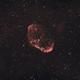 Crescent Nebula HRGB,                                Marco Prelini