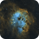 IC410 - Tadpole Nebula,                                Jeremy Wiggins
